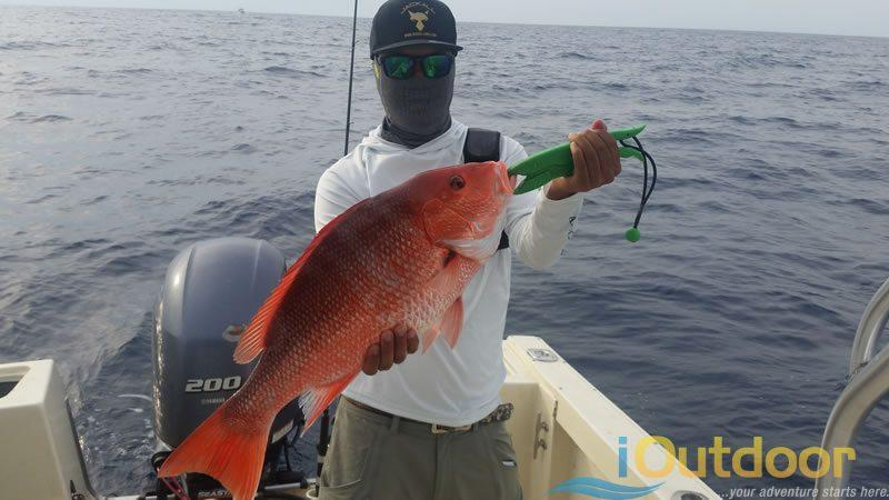Inlet Snapper Fishing Charter